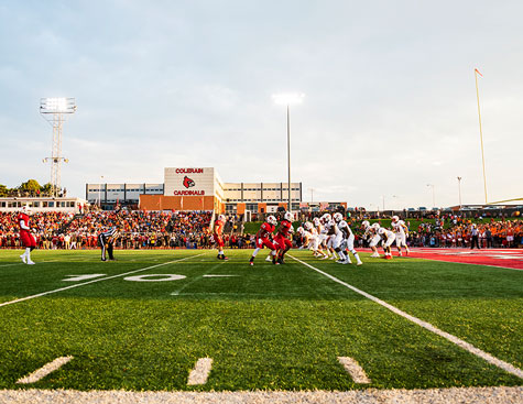high school football game in colerain township, ohio