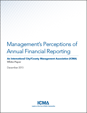 management s perceptions of annual financial reporting