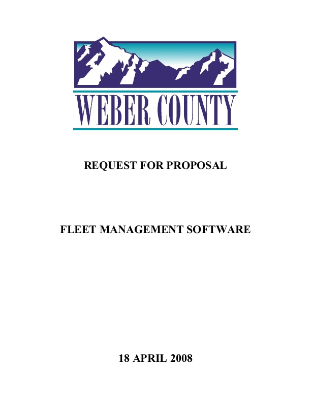 RFP: Fleet Maintenance Information Software System | icma org