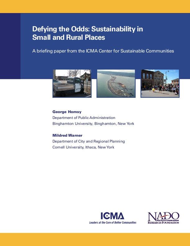 briefing paper on rural housing