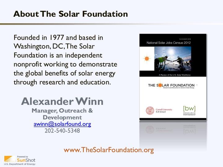 Southern California Energy Summit Solar Presentation | icma org