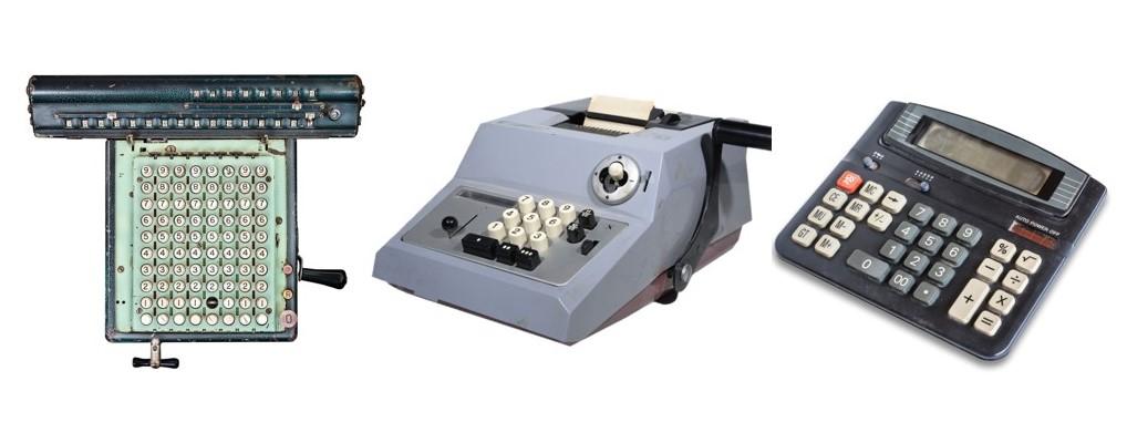 older versions of calculators