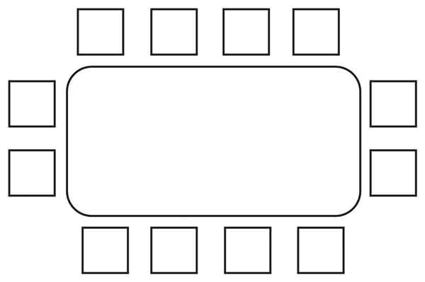 Chair Arrangement of a Private Sector Boardroom