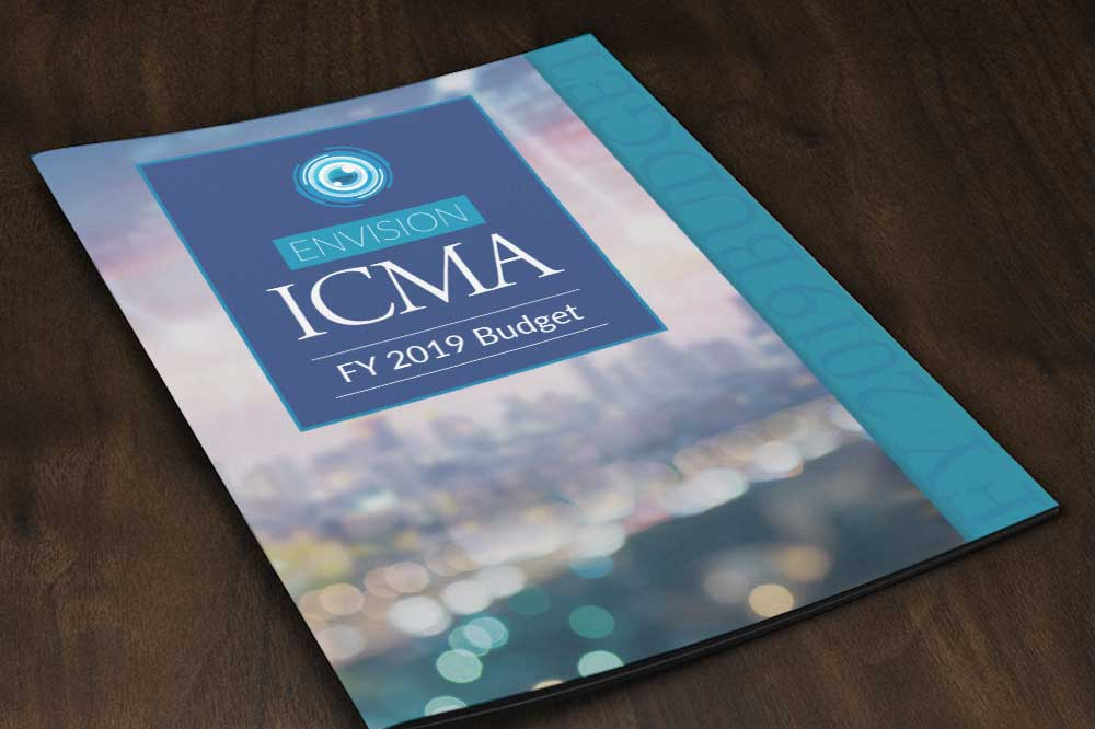 Cover of ICMA 2019 Budget