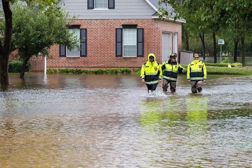 Flood responders