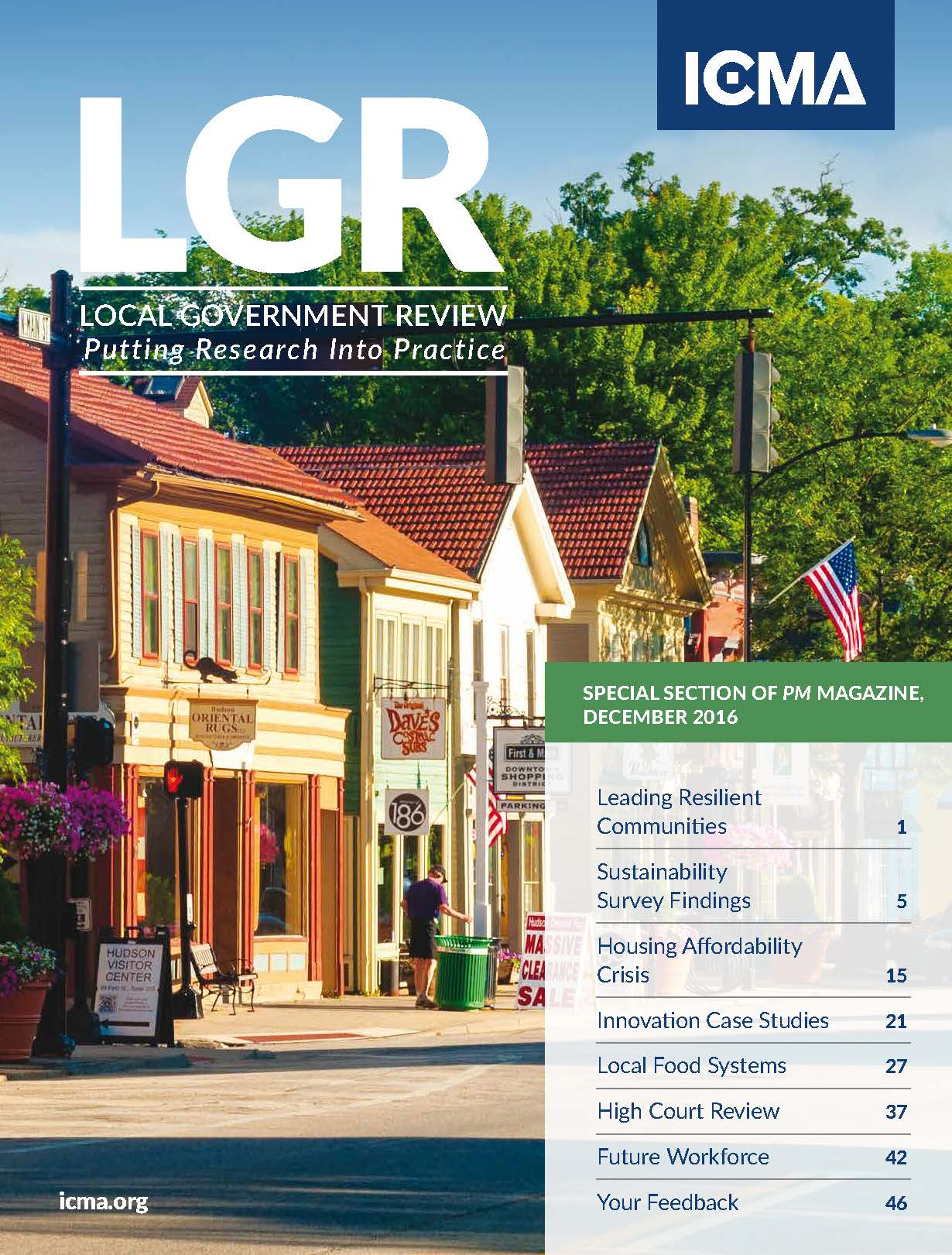 LGR local government review cover december 2016