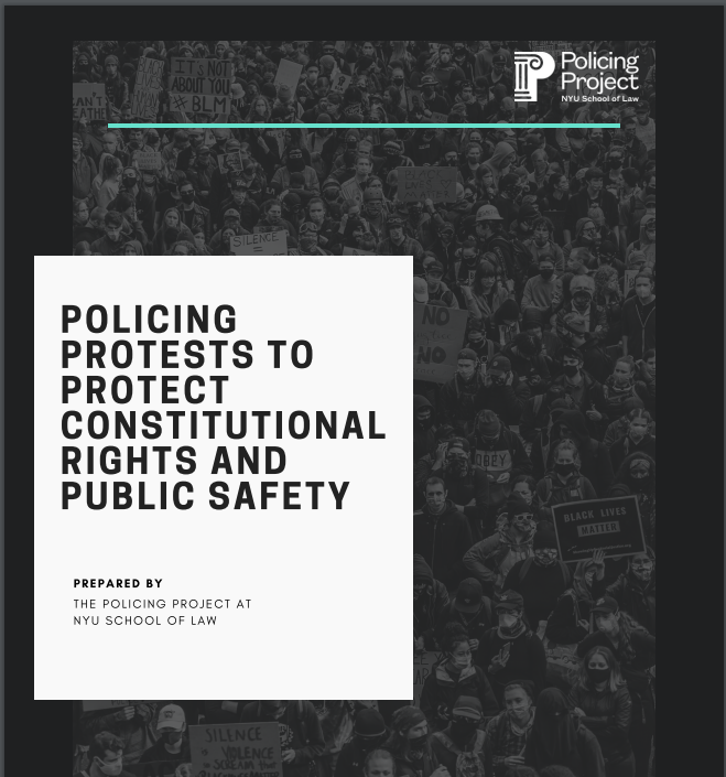 Best Practices for Policing Protests