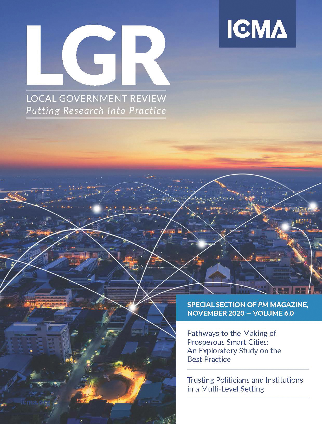 cover of local government review for november 2020