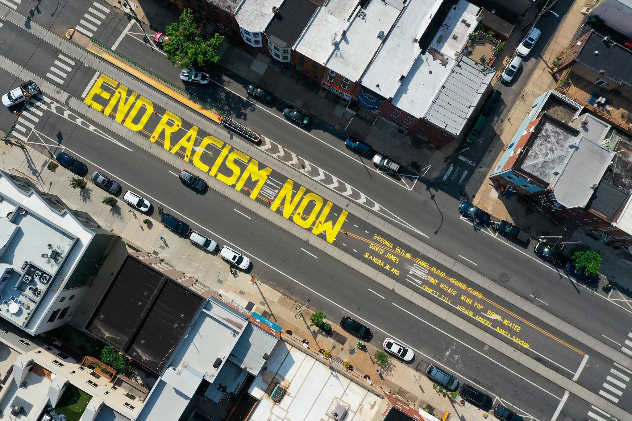 Philadelphia: End Racism Now