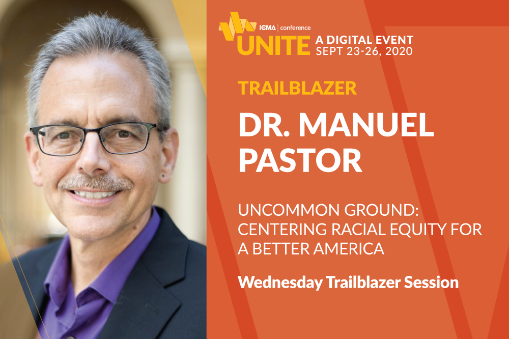 Dr. Manuel Pastor Uncommon Ground Centering Racial Equity for a Better America