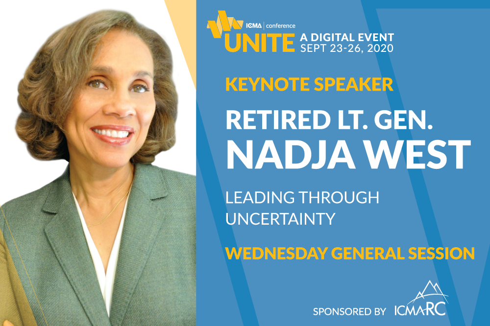 Nadja West Shares Experience on Leading Through Uncertainty