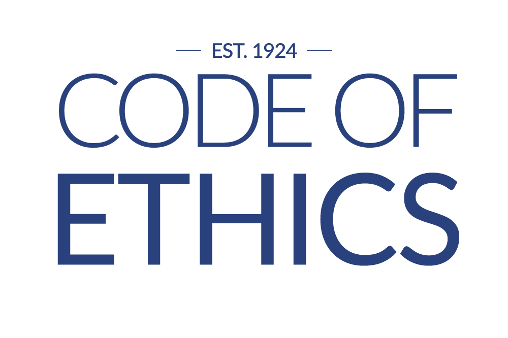 code of ethics est. 1924