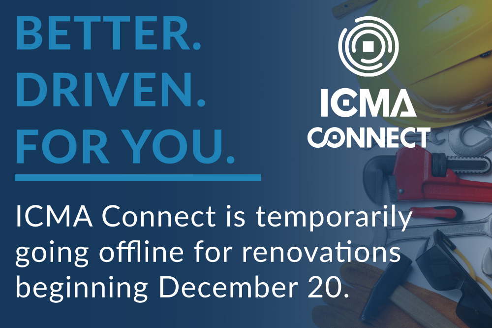 ICMA connect going offline