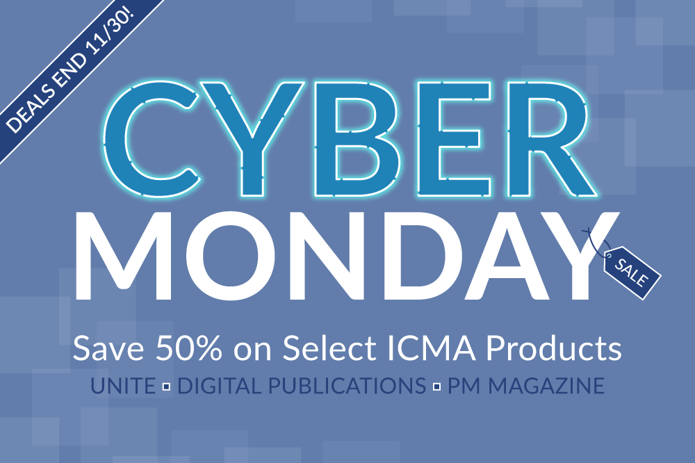 2020 ICMA Cyber Monday Deals Are Here!
