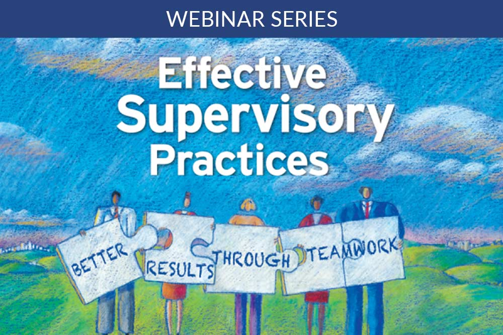 effective supervisory practices book cover