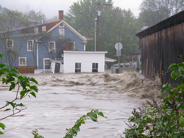 Flooding of home and barn