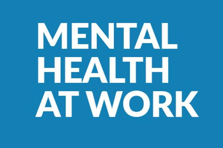 Image of Mental Health at Work supplement cover