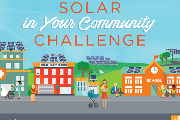 Logo of solar in your community challenge