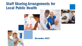 case study cover of public health shared staff